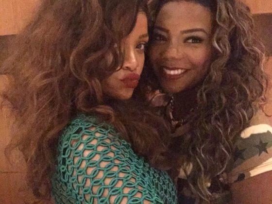 Rihanna e Ludmilla na Churrascaria Fogo de Chão no Rio de Janeiro