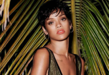 Rihanna em 2014 para a Vogue Brasil