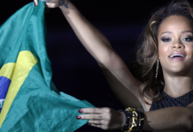 Rihanna no Brasil em 2011