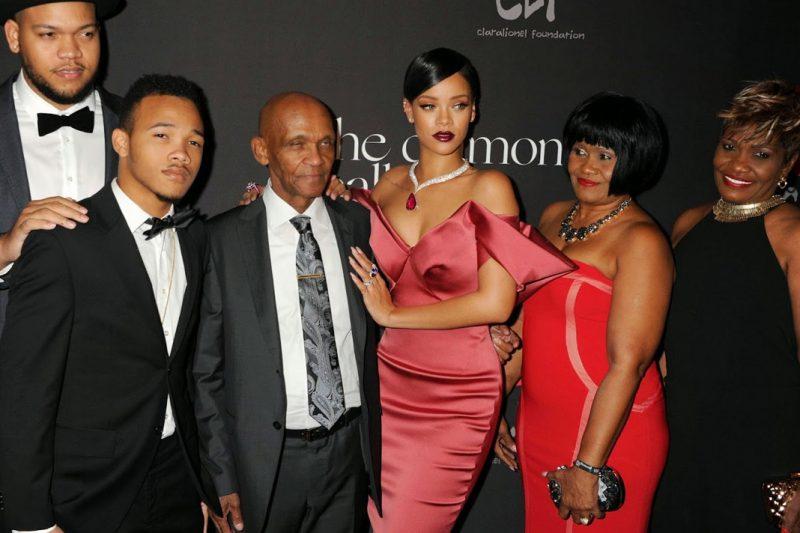 Família de Rihanna
