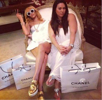 Rihanna amiga Jennifer Rosales