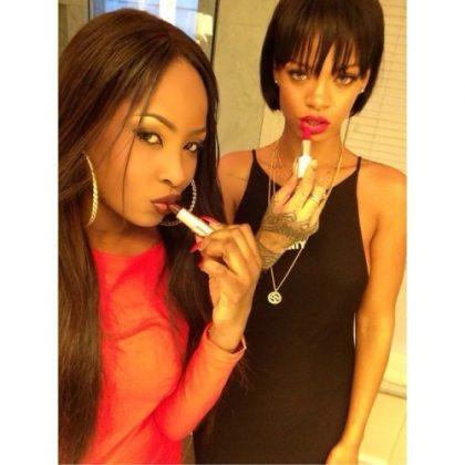Rihanna amiga Leandra Simone