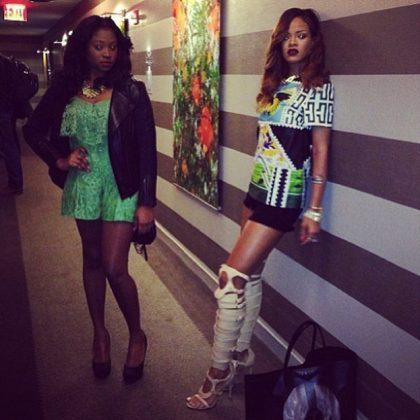 Rihanna prima Noella