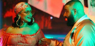 Rihanna e DJ Khaled - Instagram