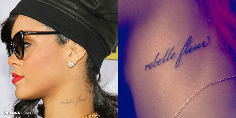Rihanna isis tattoo