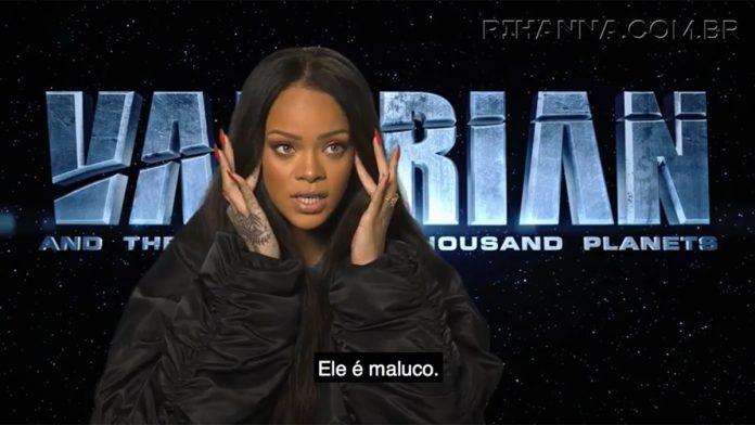 Entrevista Legendada para Valerian - Rihanna