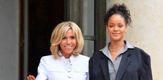 Rihanna e Primeira Dama da França