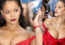 Peitos Rihanna