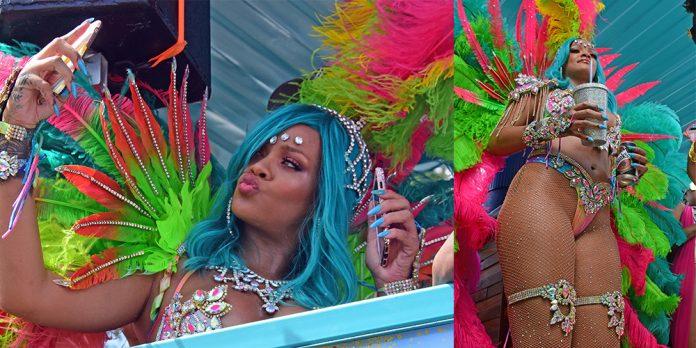 Rihanna no Crop Over 2017