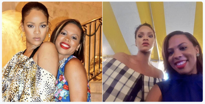 Rihanna e amiga Sonita