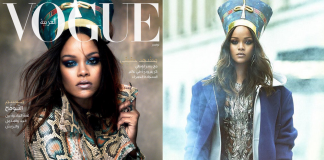 Vogue Arabia Cover Rihanna as Nefertiti