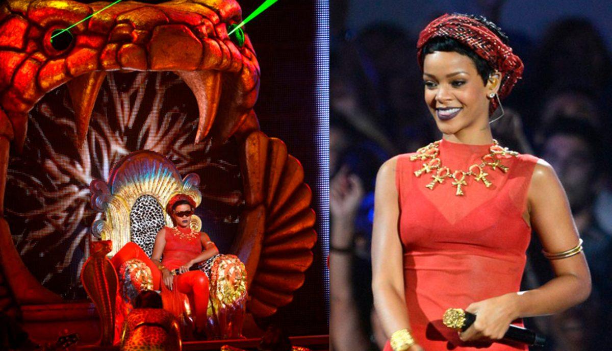 Rihanna Egito Materia