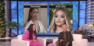 Demi Lovato prefere Rihanna - imagem com Ellen DeGeneres e Rita Ora