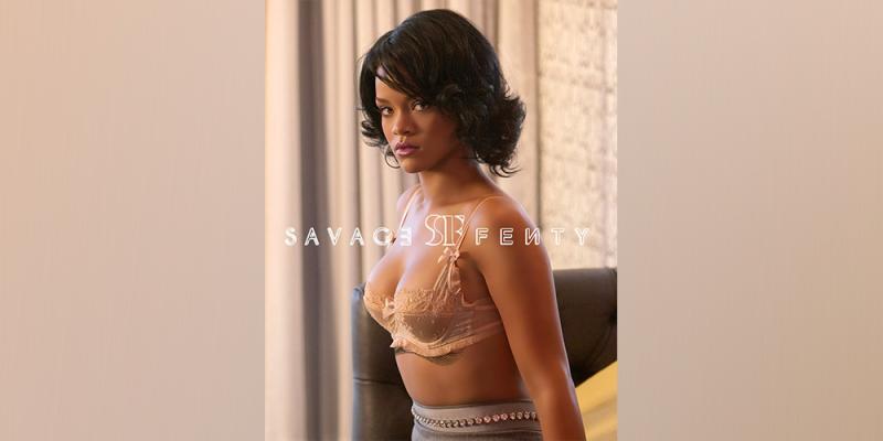 É lingerie  É maquiagem  Foto misteriosa de Rihanna causa discussão ... 130648a79b0